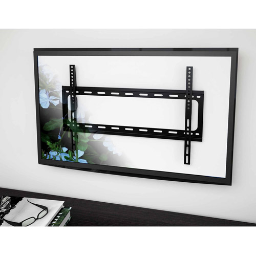 """CorLiving F-102-MTM Fixed Flat Panel Wall Mount for 32"""" - 55"""" TVs"""