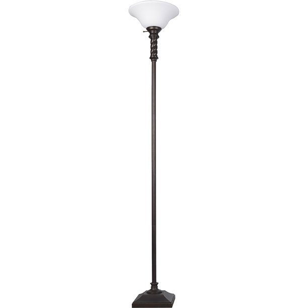 Cooper Ridge 70 Black Twist Floor Lamp, Cooper Ridge Lamps