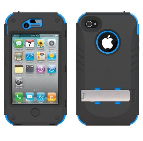 AFC Trident - Kraken AMS Trident Case for Apple iPhone 4/4S - Blue