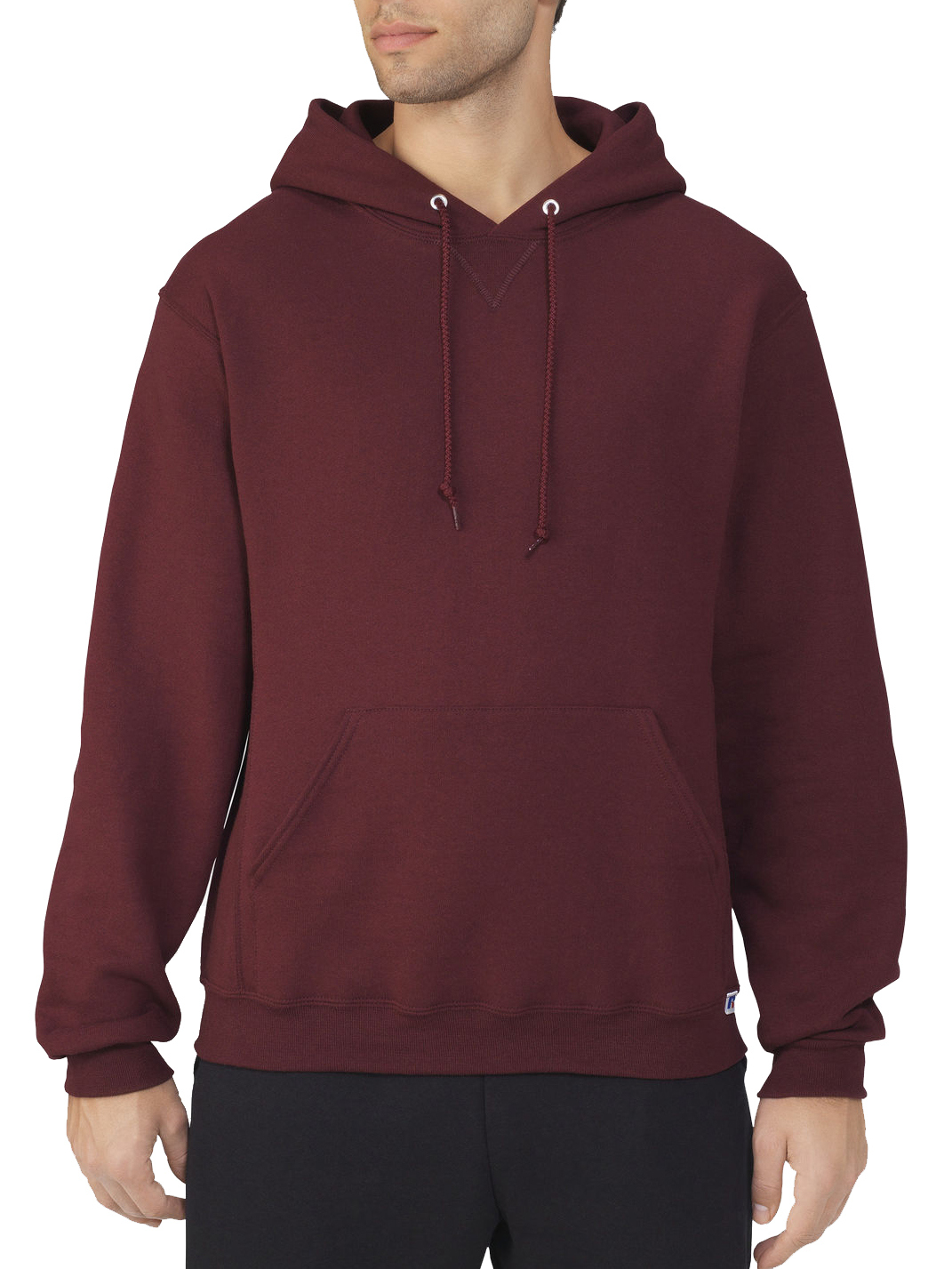 Russell North Shore Athletics Training Pullover Hoodie Men/'s Large Gray Red