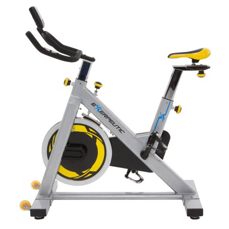 Exerpeutic LX905 Indoor Exercise Cycling Bike with Computer and Heart Pulse (Bicycle Exercise Machine)