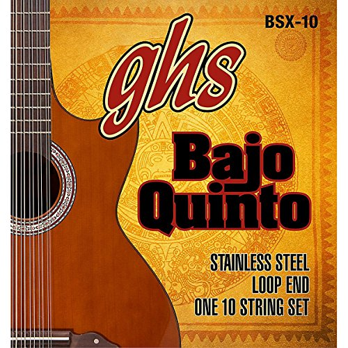 GHS Bajo Sexto 10-String Guitar Strings Set by GHS