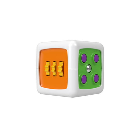 Fisher-Price My First Fidget Cube with 6 Sides of Play