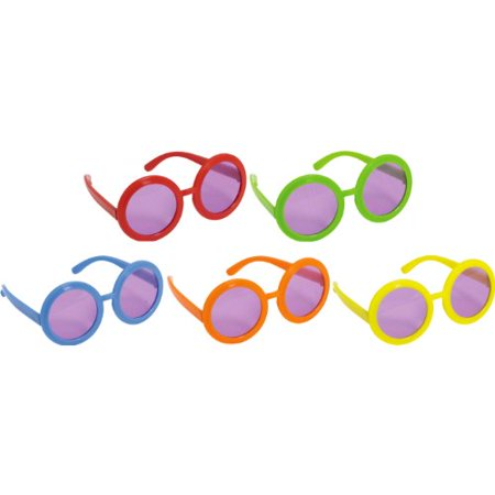 60's Theme Party (60's Solid Color Glasses)