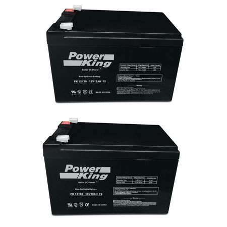 BladeZ XTR HD 550 Scooter Replacement Batteries (2) 12V 12ah