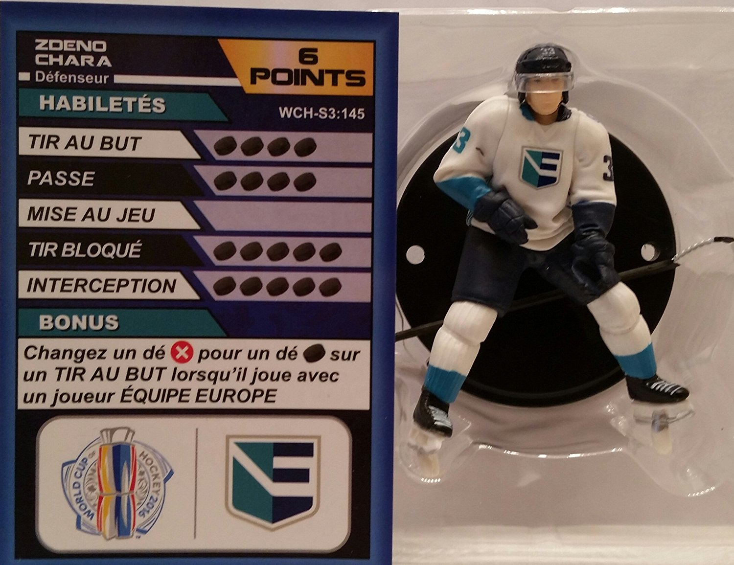 World Cup of Hockey Team Europe Zdeno Chara (Uncommon) by