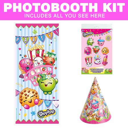 Shopkins Photo Booth Kit - Party Supplies