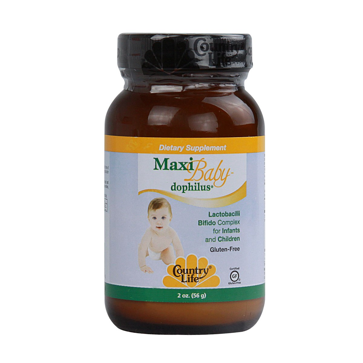 Country Life Vitamins - Maxi Baby Dophilus 2 oz Powder