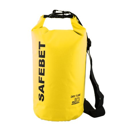 SAFEBET Authorized Water Resistant Bag Dry Sack Yellow 10L for Rafting  Swimming - Walmart.com d63fdebddbce8