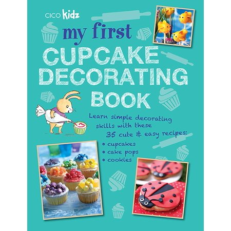 My First Cupcake Decorating Book : Learn simple decorating skills with these 35 cute & easy recipes: cupcakes, cake pops, cookies - Halloween Layer Cake Recipes