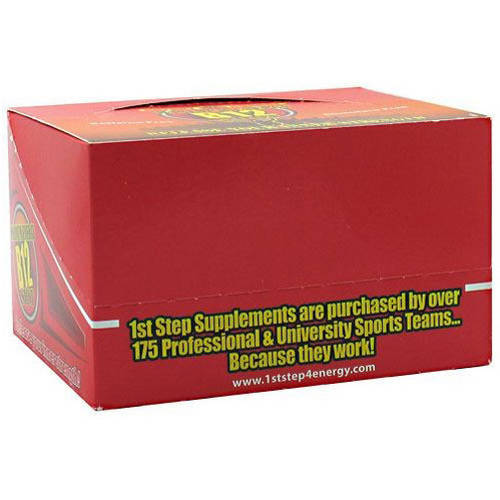 Image of 1st Step for Energy Maximum Energy B12 Shot, Cherry Charge, 12 CT