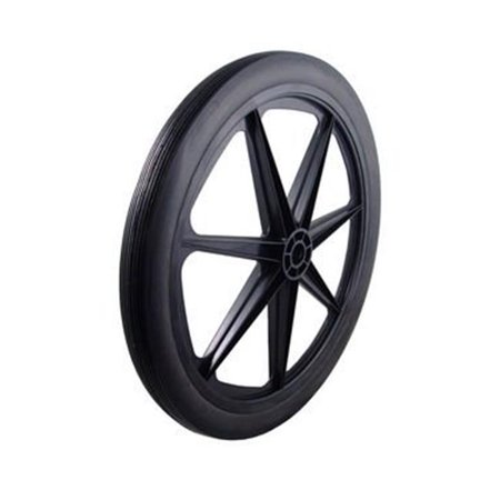 Marathon Industries 93001 24x2.0 in. Flat-Free Cart Tire with Ribbed Tread