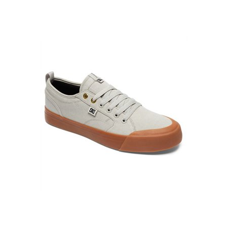 bf23536cf1b926 DC - DC Men s Evan Smith TX Low Top Sneakers Grey Textile 13 D - Walmart.com