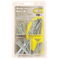 Ook Common Nails, Assorted Sizes, 110/Pkg.