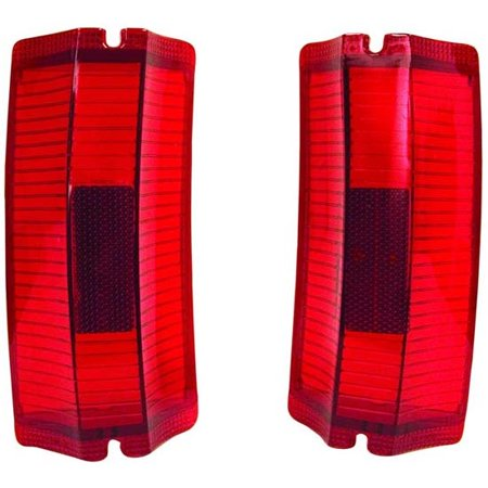 1965 Tail Light - Dynacorn TL65BN Tail Light Lens, 1965 El Camino, Pair
