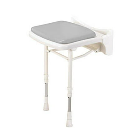 2000 Arc (ARC Inc 02000P 2000 Series Shower Seat Compact Padded Seat - Gray - 15 Inch W)