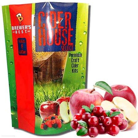 Cider House Select Cranberry Apple Cider Making Kit (5.3