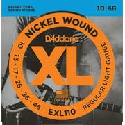 Best Electric Guitar strings - D'Addario EXL110 Nickel Wound Electric Guitar Strings, Regular Review