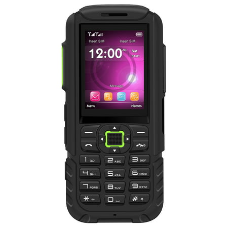 BLU Tank Mega T570 Unlocked GSM Rugged Feature Phone w/ SOS Button & Super Flashlight - (Top Best Phones 2019)