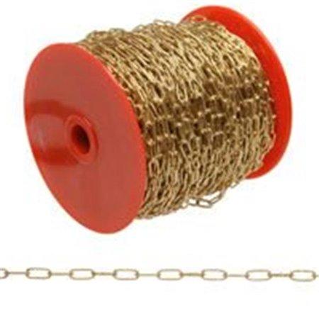 710717 Chain Clock Brass No. 7, 82 ft. - Flavor Flav Clock Necklace