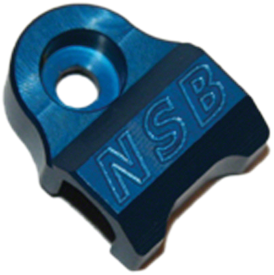 North Shore Billet 2008-2013 Fox 32 & 36 Cable Guide Blue