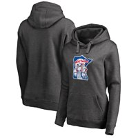 Minnesota Twins Fanatics Branded Women's Cooperstown Collection Huntington Pullover Hoodie - Heathered Gray