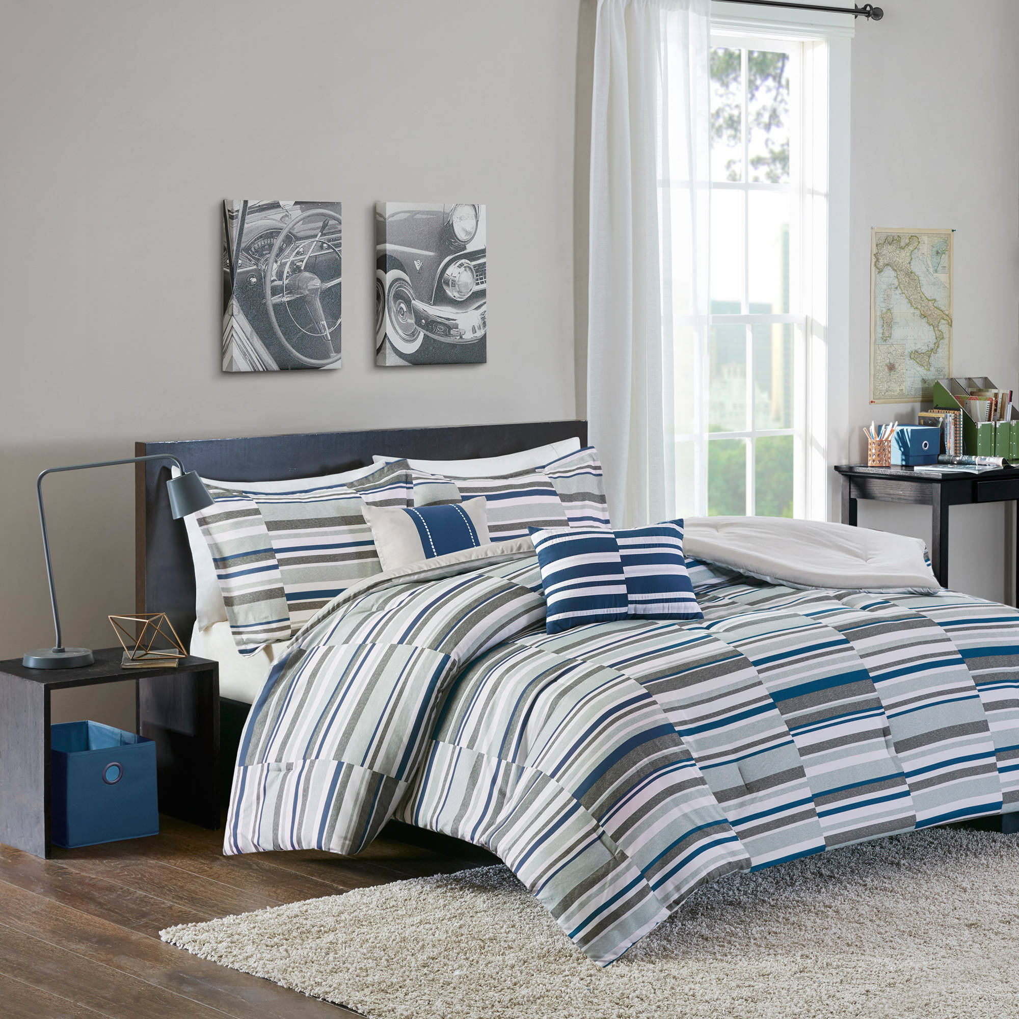 Home Essence Apartment Patrick Comforter Set
