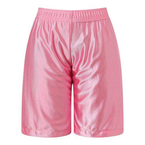 Richie House Little Boys Pink Leisure Classic Smooth Sports Shorts 6/7