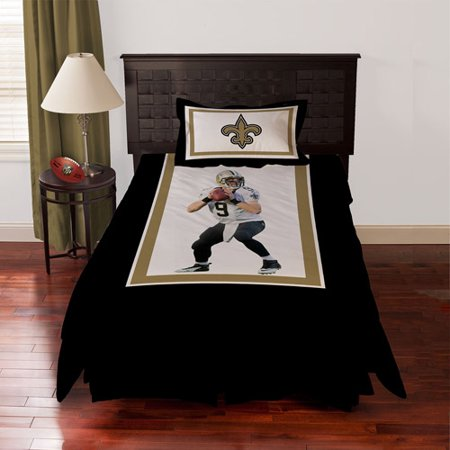 Biggshots New Orleans Saints Drew Brees Bedding Comforter Set