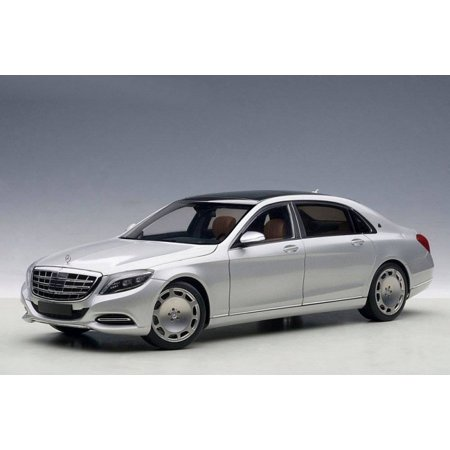 Mercedes Maybach S Class S600 Silver 1 18 Model Car By Autoart