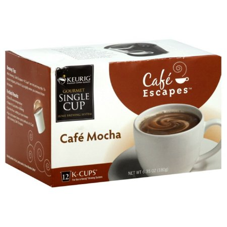 Keurig K Cups Cafe Escapes Mocha Coffee