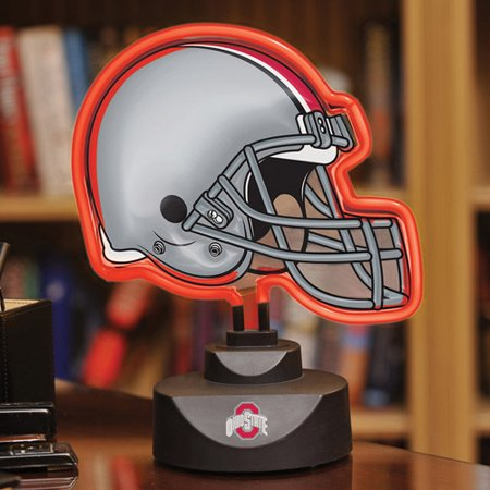 NCAA OSU Ohio State Neon Football Helmet Lamp