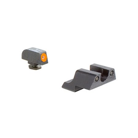 Trijicon GL113-C-600785 HD Night Sight Set Orange Front Outline For Glock 42 & 43 - (Best Laser For Glock 43)