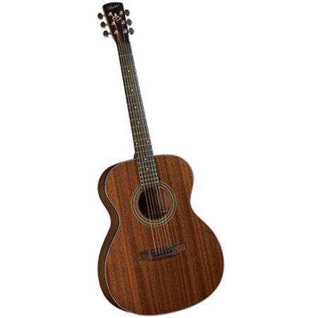 Bristol BM-15S Solid Mahogany 000 Acoustic Guitar