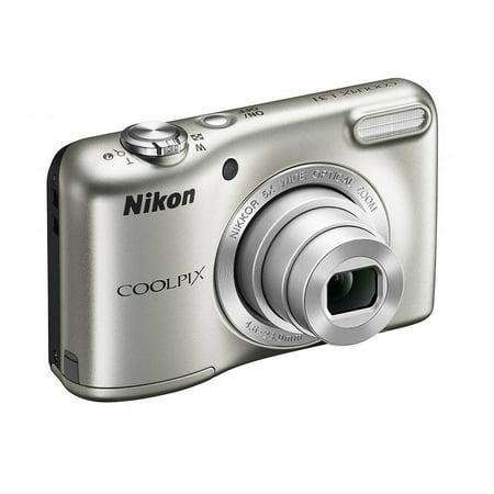 Buy Nikon Silver COOLPIX L31 Digital Camera with 16 Megapixels and 5x Optical Zoom