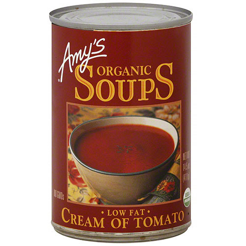 Amy's Organic Cream Of Tomato Low Fat Soup, 14.5 oz (Pack of 12)