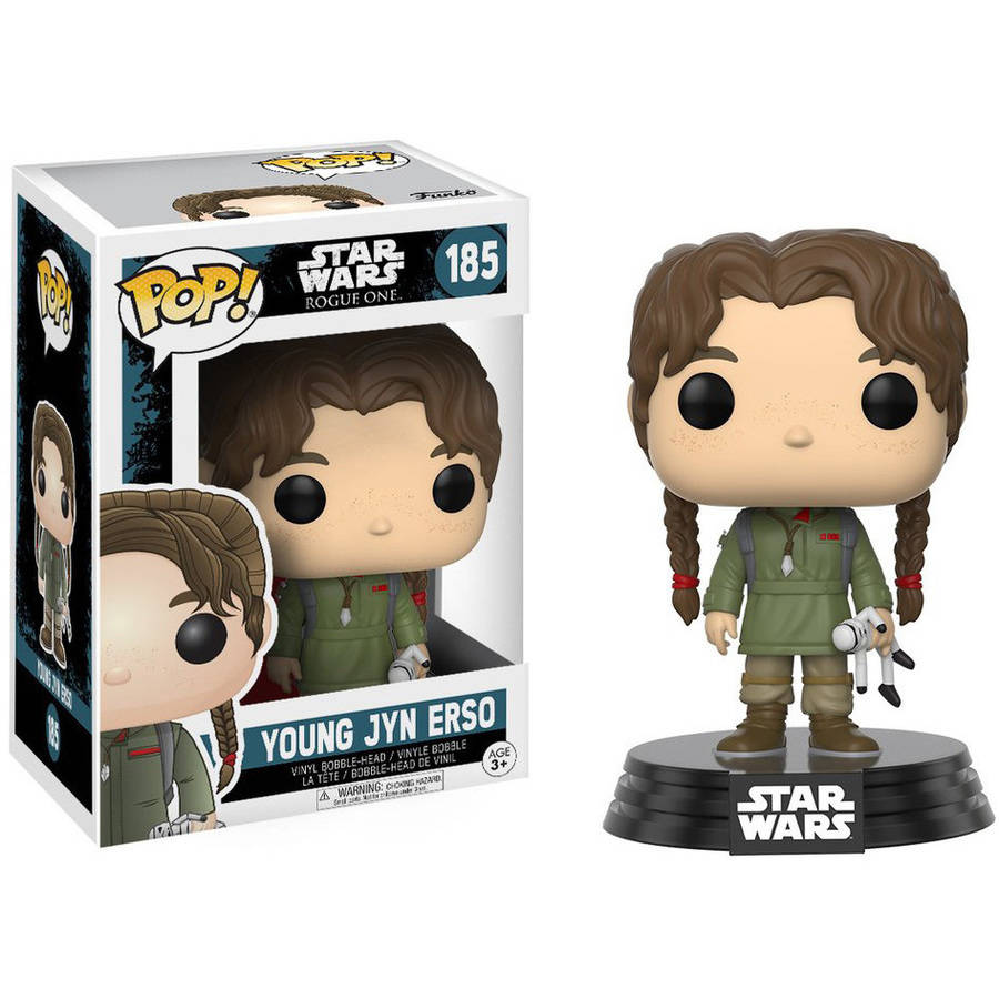 Funko  14872 Pop! Star Wars Rogue One Young Jyn Erso