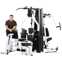 Body Solid EXM3000LPS Commercial Double Stack Gym - 3 Station