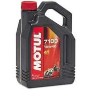 Motul 104092 7100 4T Synthetic Ester Motor Oil - 10W40 - 4L.