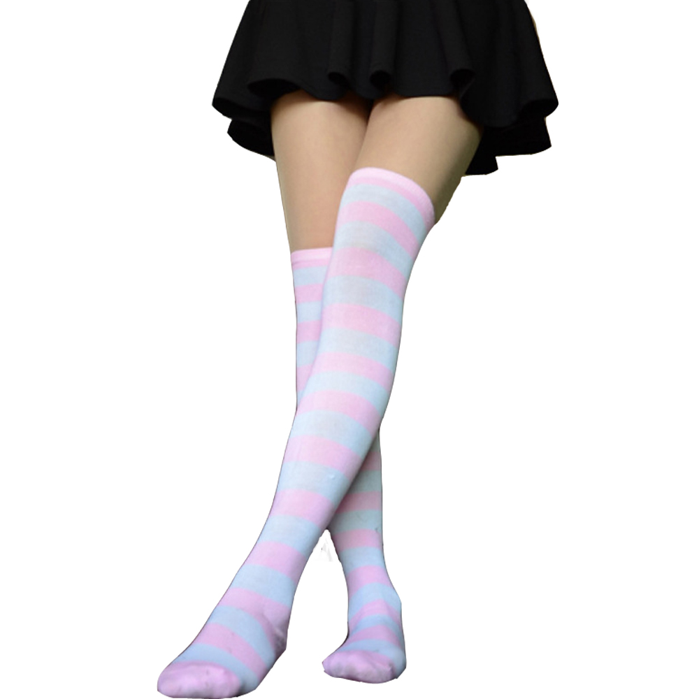 Womens//Girls Black And White Butterflies Casual Socks Yoga Socks Over The Knee High Socks 23.6