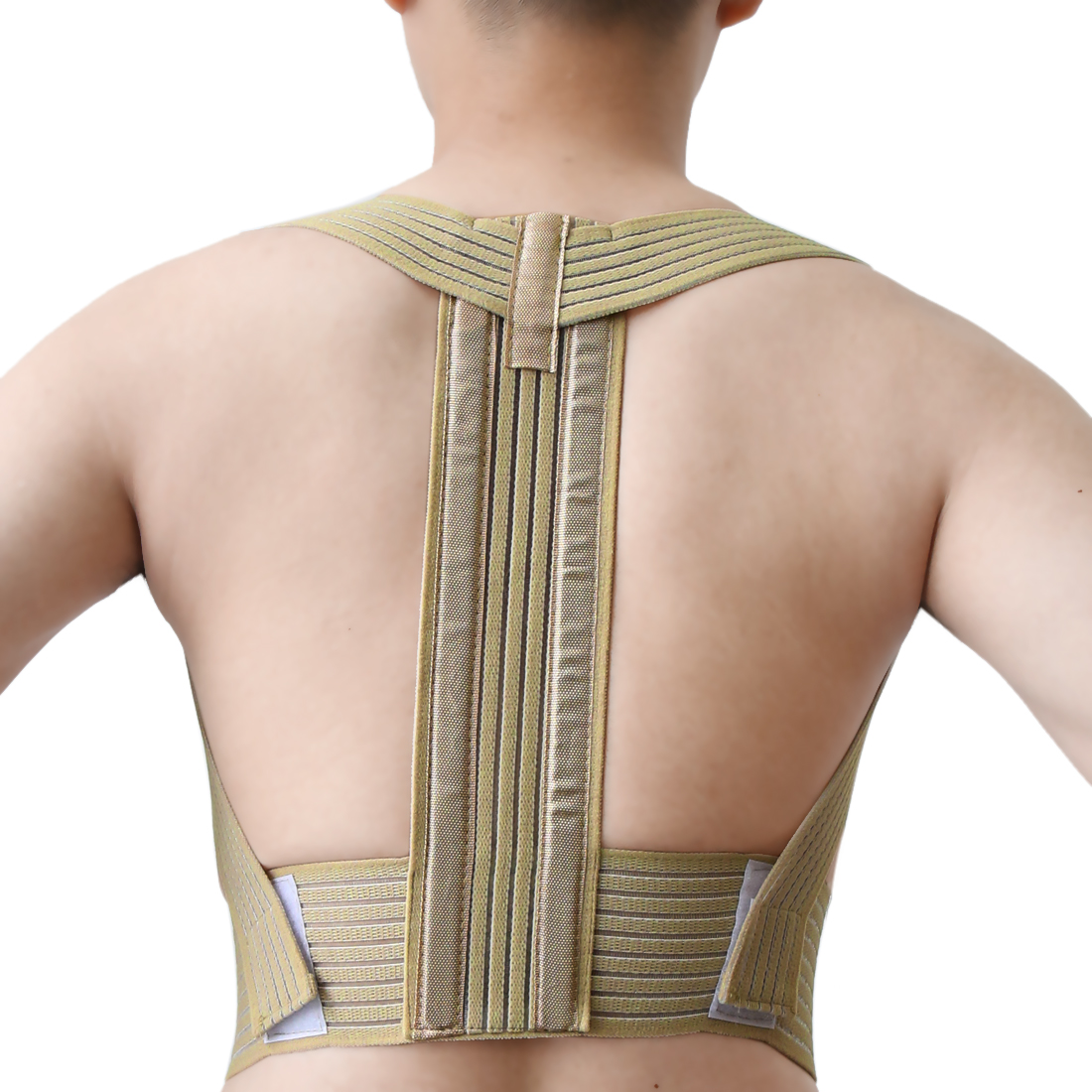 Adjustable Posture Back Shoulder Support Brace Belt Posture Corrector Therapy Band