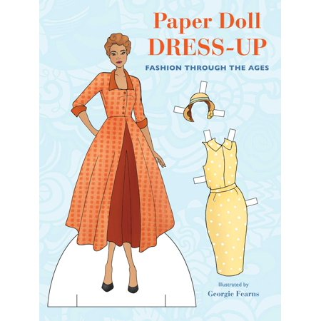 Paper Doll Dress-Up : Fashion through the ages - Seventies Outfit