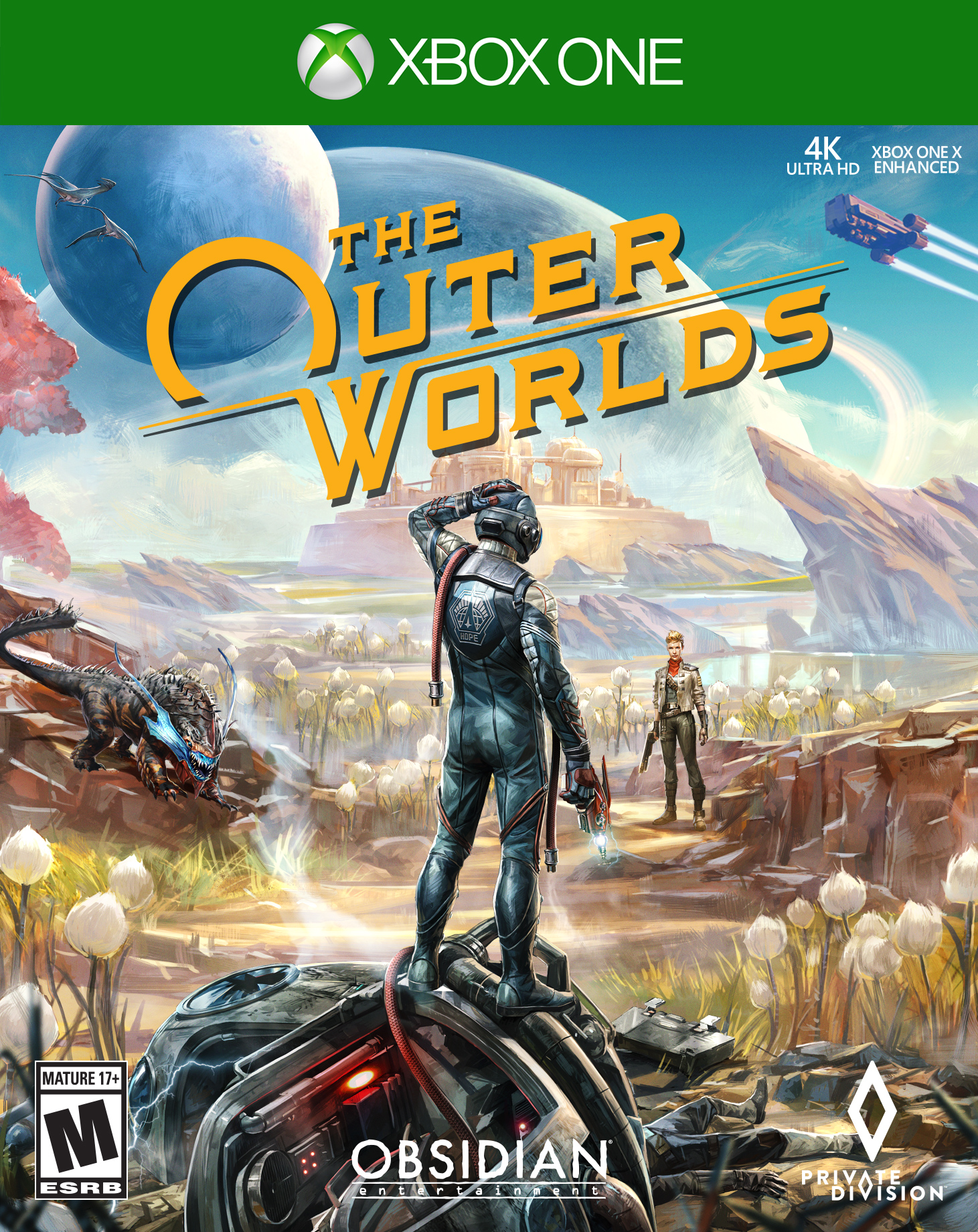 The Outer Worlds, Private Division, Xbox One, 710425595165