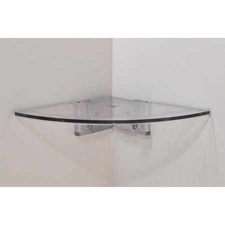 - Easy Corner Shelf by CornerMate CLEAR INNER CORNER