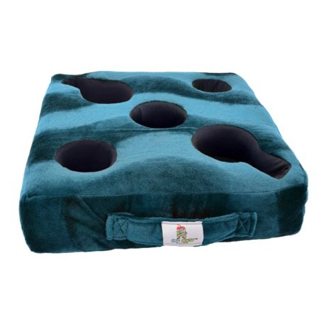 Cup Cozy Deluxe Pillow (Teal)