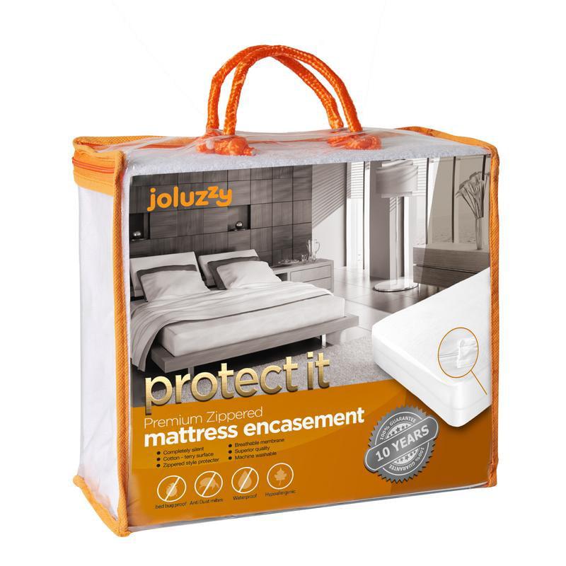 Waterproof Zippered Six-Sided Matress Encasement Breathable Mattress Protector