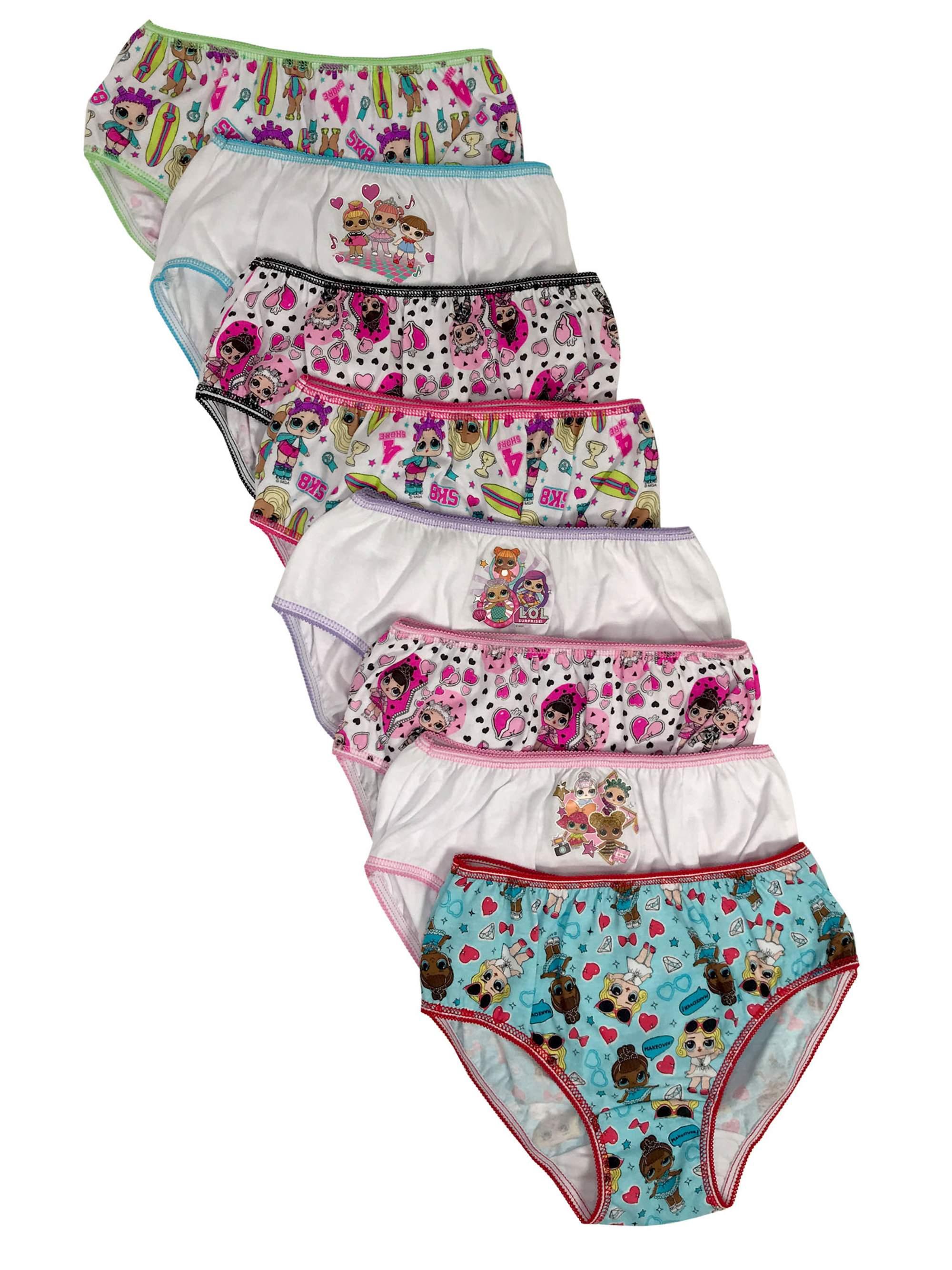 L.O.L. Surprise Panties, 7+1 Bonus Pack (Little Girls & Big Girls)