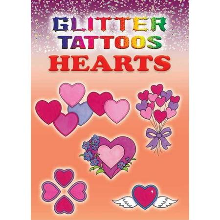 Glitter Tattoos Hearts