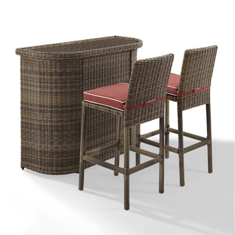 3 piece patio bar set.  Set To 3 Piece Patio Bar Set