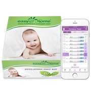 Easy@Home 40 Ovulation Test Strips and 10 Pregnancy Test Strips Kit - The Reliable Ovulation Predictor Kit (40 LH + 10 HCG)